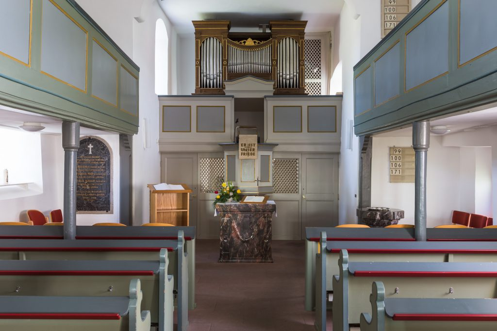 Kirche in Oberndorf INNEN